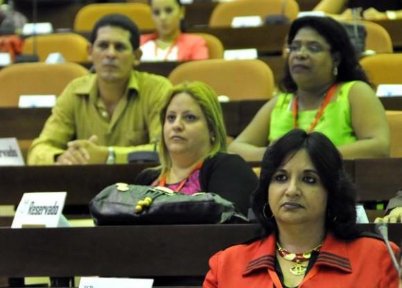 Inauguración del XII Encuentro Internacional de Ciencias Penales 2014, que se desarrolla en el Palacio de Convenciones de La Habana, el 26 de noviembre de 2014. AIN FOTO/Marcelino VAZQUEZ HERNANDEZ/rrcc