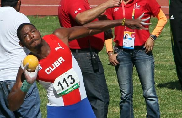 Yordanis Garcia, Oro en Decatlon. Foto: Ismael Francisco/Cubadebate.
