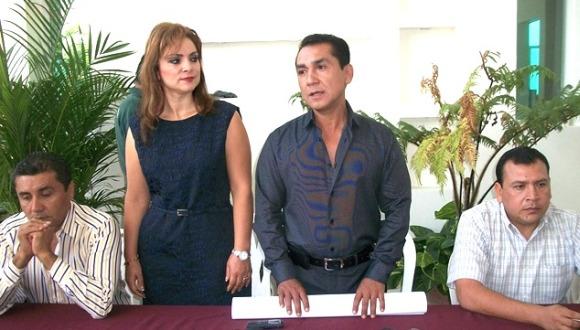 alcalde de iguala y su esposa