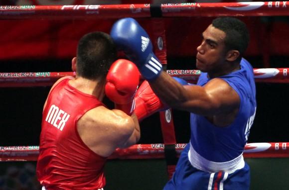 Arlen López Oro en los 75 kg. Foto: Ismael Francisco/Cubadebate.