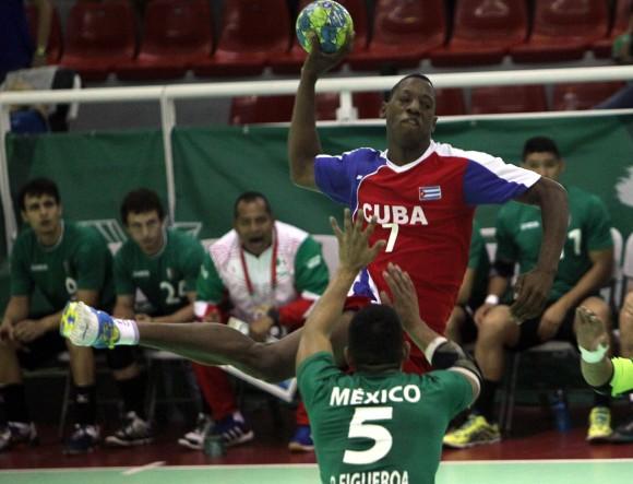 Cuba obtiene medalla de Bronce en Balonmano masculino. Foto: Ismael Francisco/Cubadebate.