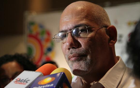 Antonio Becali, presidente del INDER. Foto: Ismael Francisco/Cubadebate.