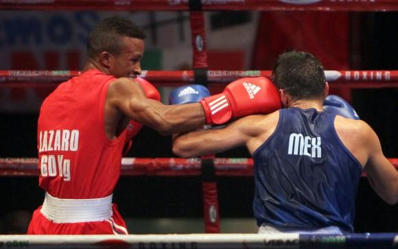 Lázaro Alvarez Oro en &60 kg. Foto: Ismael Francisco/Cubadebate.
