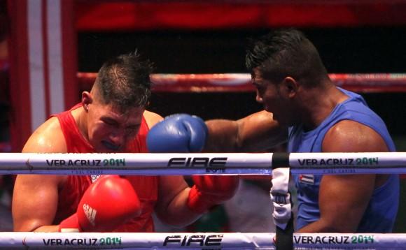 Yoandri Toirac Oro en mas de 91 kg. Foto:Ismael Francisco/Cubadebate.