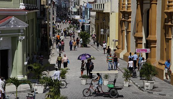 Calle República. Foto: Ismael Francisco/Cubadebate.