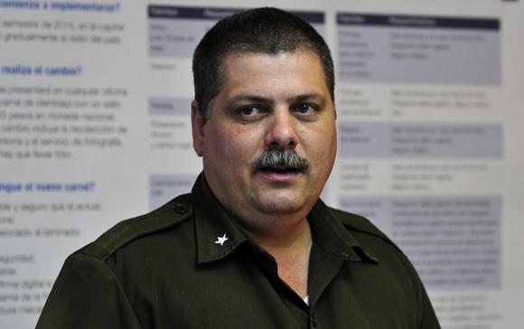Mayor Alejandro Diéguez Montesino. Foto: Ladyrene Pérez/Cubadebate.