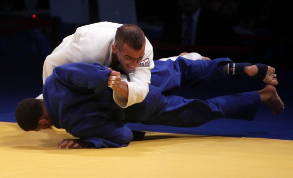 Janier Peña oro en 60 kg. Foto: Ismael Francisco/Cubadebate.