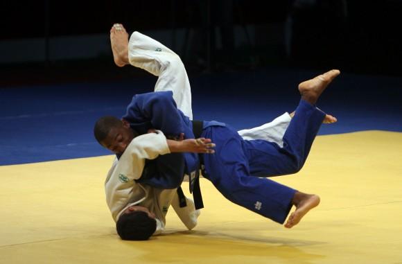 Leonardo Meriño Oro en 55 kg del Judo. Foto: Ismael Francisco/Cubadebate.