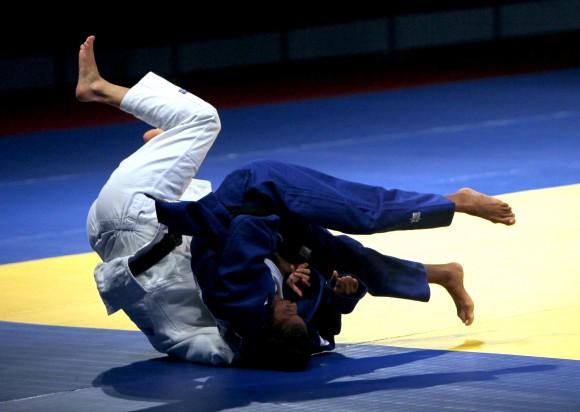 Maria Celia Laborde Oro en 48 kg del Judo. Foto: Ismael Francisco/Cubadebate.