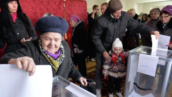 elecciones en Donetsk 1
