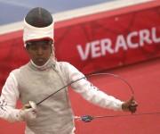 Angela Nelbis Winter, medalla de Bronce en Florete femenino. Foto: Ismael Francisco / Cubadebate
