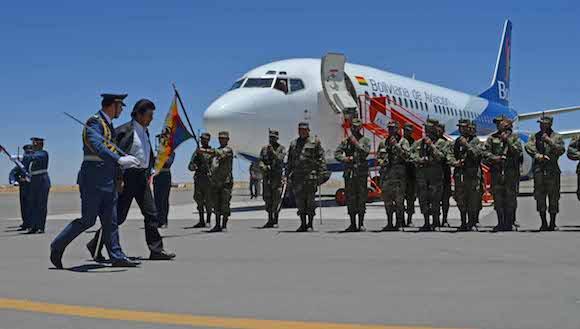 Evo inaugura los vuelos de BOA a Estados Unidos.