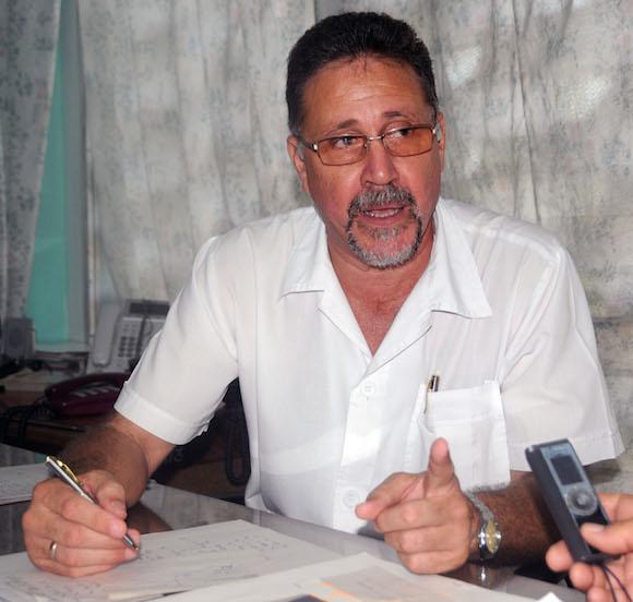 El doctor Reynaldo Pons.