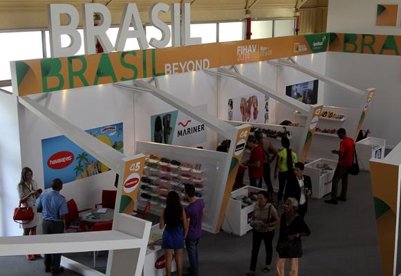 El pabellón de Brasil es organizado por la Agencia de Promoción de Exportaciones e Inversiones Apex-Brasil. Foto: Ladyrene Pérez/ Cubadebate.