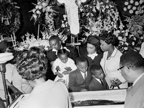 Funeral de Martin Lutehr King. Foto: Archivo