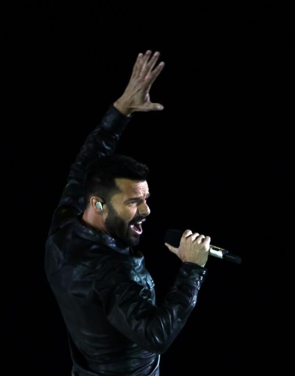 Ricky Martin cerró la Ceremonia de inauguración de los XXII Juegos Deportivos Centroamericanos y del Caribe Veracruz 2014. Foto: Ismael Francisco/ Cubadebate