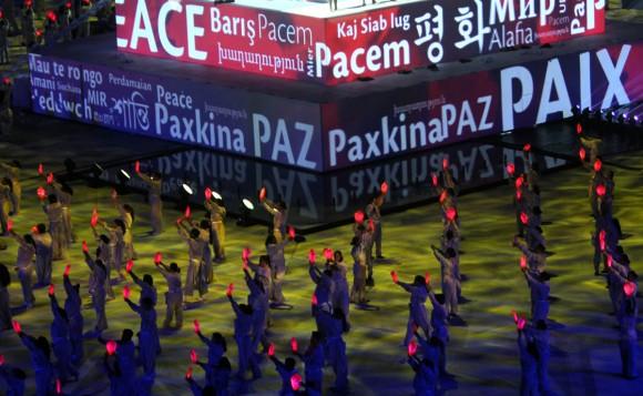 Ceremonia de inauguración de los XXII Juegos Deportivos Centroamericanos y del Caribe Veracruz 2014. Foto: Ismael Francisco/ Cubadebate