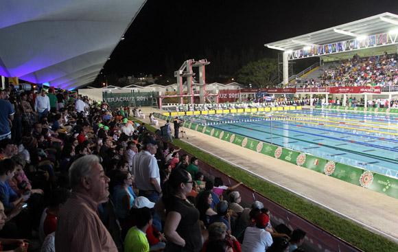 Natación de los Juegos Centroamericanos y del Caribe. Foto: ismael Francisco/Cubadebate.