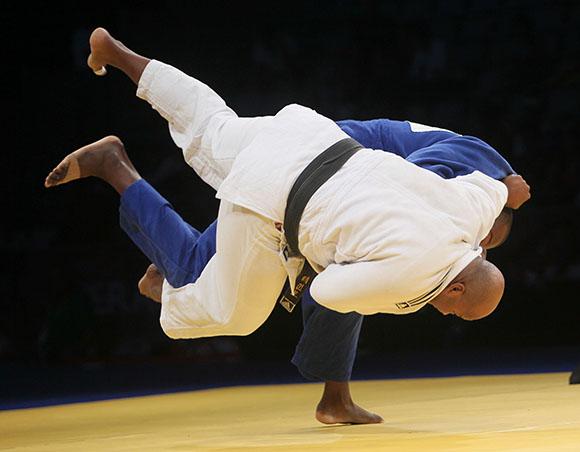 Cuba a Finales en Judo Masculino por equipos. Foto: Ismael Francisco / Cubadebate