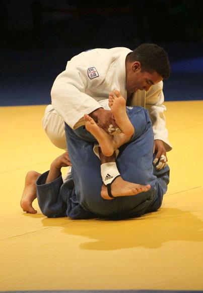 Magdiel Estrada, oro en 73 kg. Foto: Ismael Francisco / Cubadebate