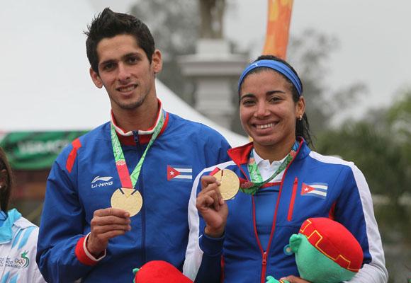 Oro para Cuba en Pentatlón Moderno de Veracruz 2014