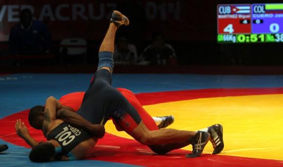Cuba con dos atletas en segunda jornada mundial de Lucha en París