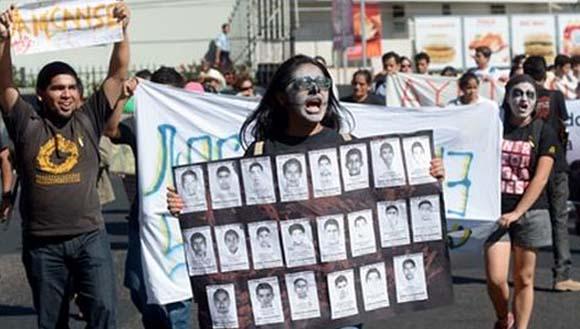 manifestantes méxico