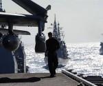Maniobras militares en el Caribe. Foto: AFP / TOSHIFUMI KITAMURA