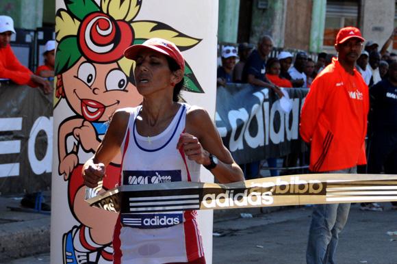Misleidys Vargas, ganadora de la edición 28 de Marabana 2014. Foto: Ladyrene Pérez/ Cubadebate.