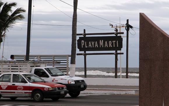 Playa José Martí, Veracruz. Foto: Ismael Francisco/Cubadebate.