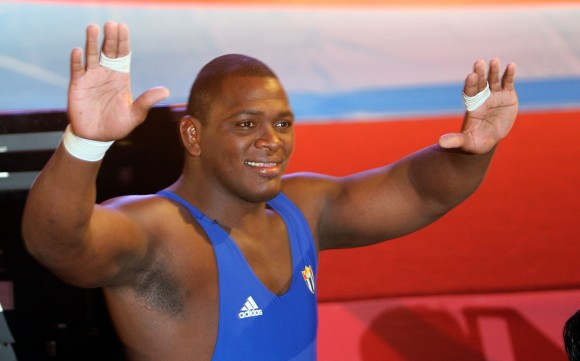 Mijain Lopez Oro en Lucha Greco-Romana en la division de los 120 kg. Foto: Ismael Francisco/Cubadebate.