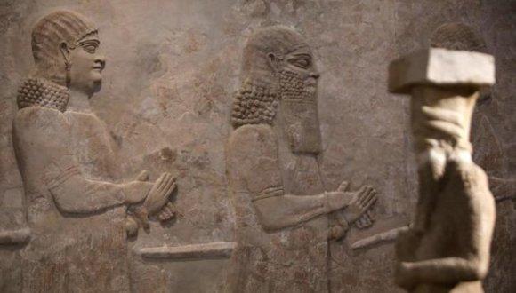 piezas de museo en Iraq