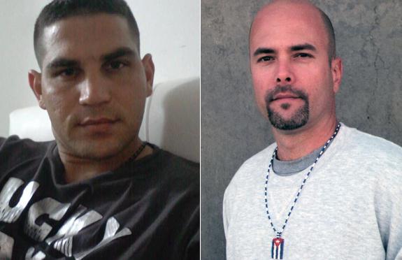 El Dr.Rotceh Rios Molina, médico en Sierra Leona, y Gerardo Hernández Nordelo, héroe cubano encarcelado en EEUU.