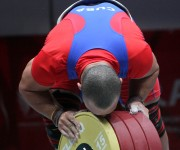 Record Centromericano en envion para Yoelmis Hernandez 205 kg en envion. Foto: Ismael Francisco/Cubadebate.