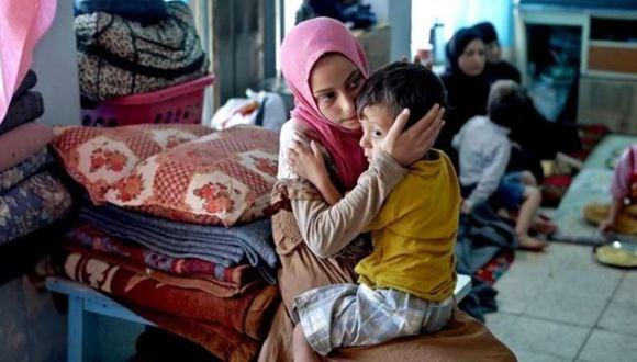 refugiados iraquíes