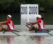 Oro para Yisenia Hernández y  Licet Hernández en doble  par cortos, peso ligero. Foto: Ismael Francisco/Cubadebate.