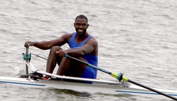 Ángel Fournier, ganó dos de Oro en los Remos. Foto: Ismael Francisco/Cubadebate.