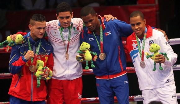 Yasnier Toledo Oro en los 64 kg. Foto: Ismael Francisco/Cubadebate.