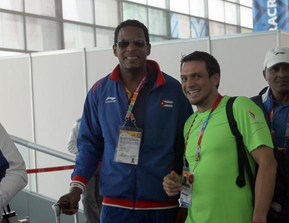 Javier Sotomayor, glolria del deporte cubano en Veracruz. Foto: Ismael Francisco/ Cubadebate.