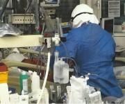 Unidad de cuidados intensivos del Hospital Universitario de Ginebra donde Félix Báez estuvo internado cerca de 20 días bajo el auspicio de la Organización Mundial de la Salud.