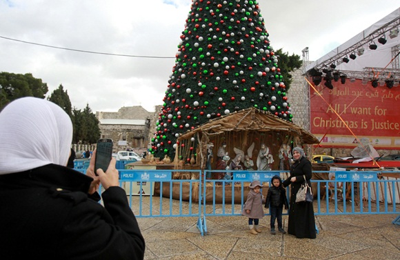 PALESTINIAN-ISRAEL-RELIGION-CHRISTIANITY-CHRISTMAS