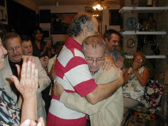 Con el Profesor Gustavo Kourí compartió la amistad y el propósito común de llevar adelante el desarrollo de la Medicina Tropical en Cuba. Foto: Cortesía del entrevistado.