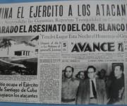 Prensa vespertina del 30 de Noviembre reseña los hechos de ese viernes de 1956.