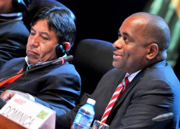 El Primer Ministro de Dominica, Roosvelt Skerrit. Foto: Ricardo López Hevia/ Granma