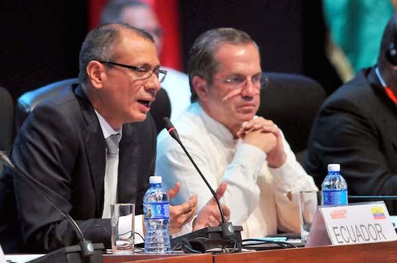 Jorge Glass, vicepresidente de Ecuador. Foto: Ricardo López Hevia/ Granma