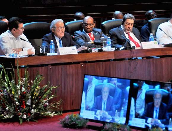 Salvador Sánchez Cerén. Foto: Ricardo López Hevia/ Granma
