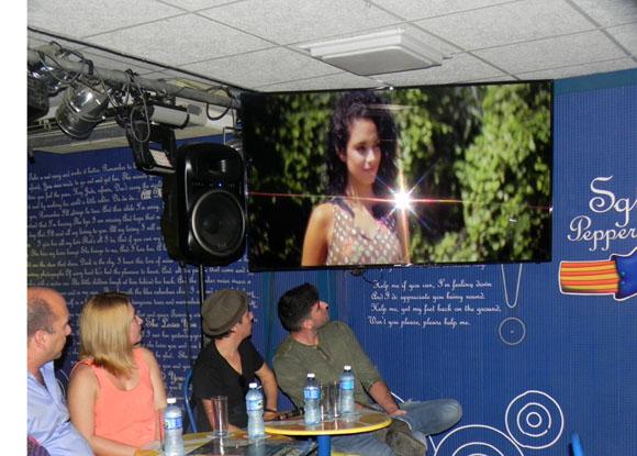 Exhibido en premier el vídeo Oshún del realizador Omar Leyva. Foto. Marianela Dufflar