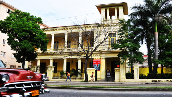 Sede de la Casa del ALBA cultural de La Habana. Foto: Archivo.