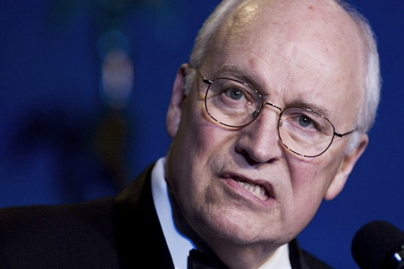 Vice President Dick Cheney, speaks at the 50th anniversary celebration of the Defense Advanced Research Projects Agency, Thursday, April 10, 2008, in Washington.  Bush administration officials from Vice President Dick Cheney on down signed off on using harsh interrogation techniques against suspected terrorists after asking the Justice Department to endorse their legality, The Associated Press has learned.   (AP Photo/Manuel Balce Ceneta)
