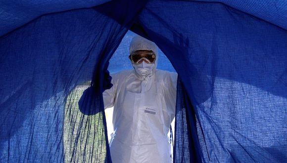 Médicos cubanos preparados para combatir el Ébola. Foto: Ladyrene Pérez/ Cubadebate.